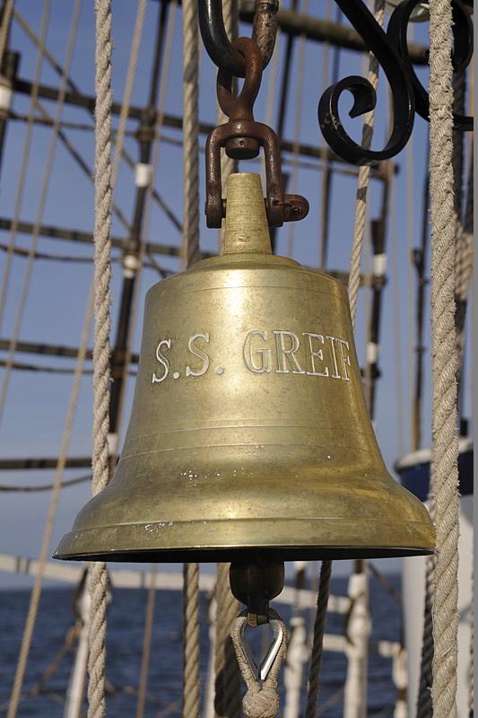 SSS Greif 19 Glocke Glasen Toern Ostsee 2014-09-28 QF Copyright Foto Knut Hildebrandt