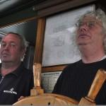 SSS Greif 21 Bootsmann Heinz Bartsch und Uwe Rudergaenger Toern Ostsee 2014-09-26 QF Copyright Foto Knut Hildebrandt