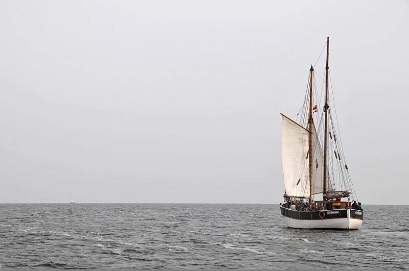SSS Greif 22 Segelschiff auf dem Greifswalder Bodden Toern Ostsee 2014-09-24 QF Copyright Foto Knut Hildebrandt