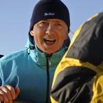 SSS Greif 31 Bernd Lehmann beim Hieven des Ankers Toern Ostsee 2014-09-27 QF Copyright Foto Knut Hildebrandt